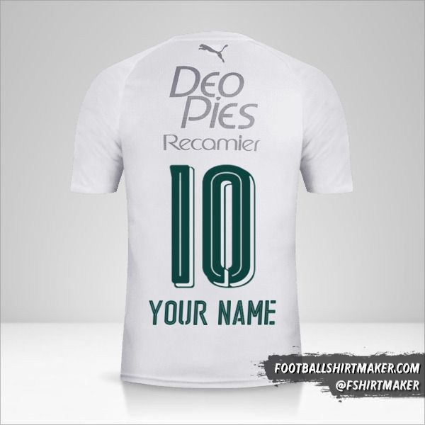 Deportivo Cali 2018 II shirt number 10 your name