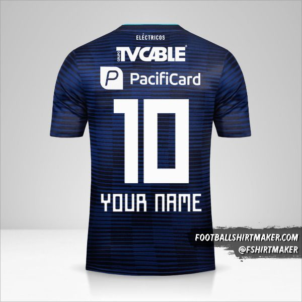 Emelec 2018 II shirt number 10 your name