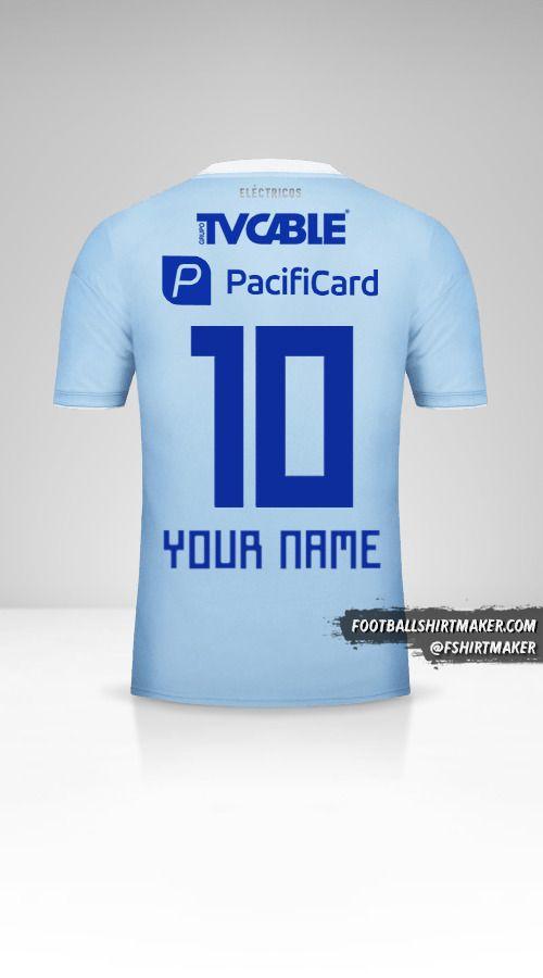Emelec 2018 shirt number 10 your name
