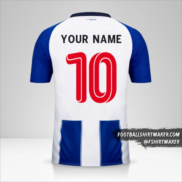 FC Porto 2018/19 UCL shirt number 10 your name