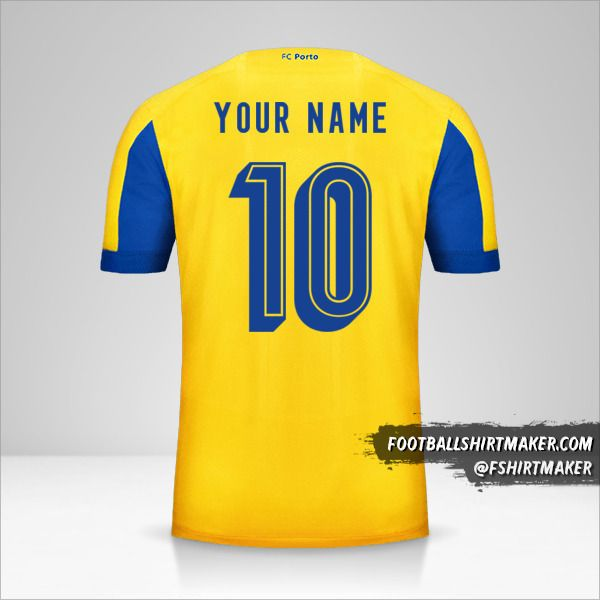 FC Porto 2019/20 UCL II shirt number 10 your name