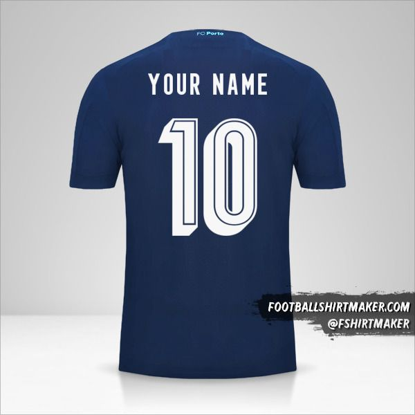 FC Porto 2019/20 UCL III shirt number 10 your name