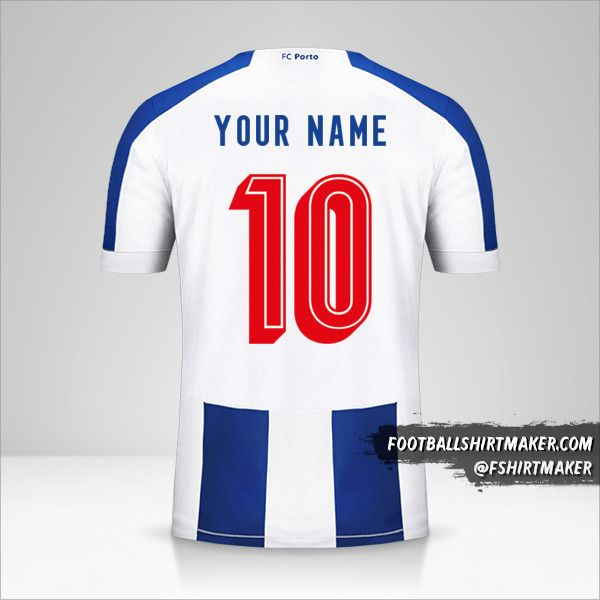 FC Porto 2019/20 UCL shirt number 10 your name