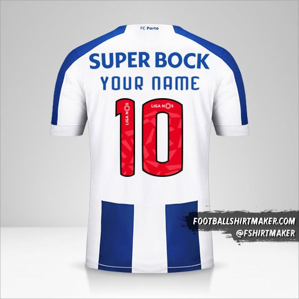 FC Porto 2019/20 shirt number 10 your name