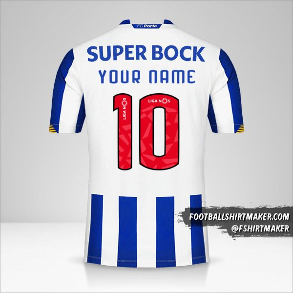 FC Porto 2020/21 shirt number 10 your name
