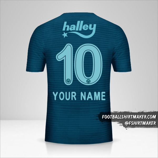 Fenerbahçe SK 2018/19 III shirt number 10 your name