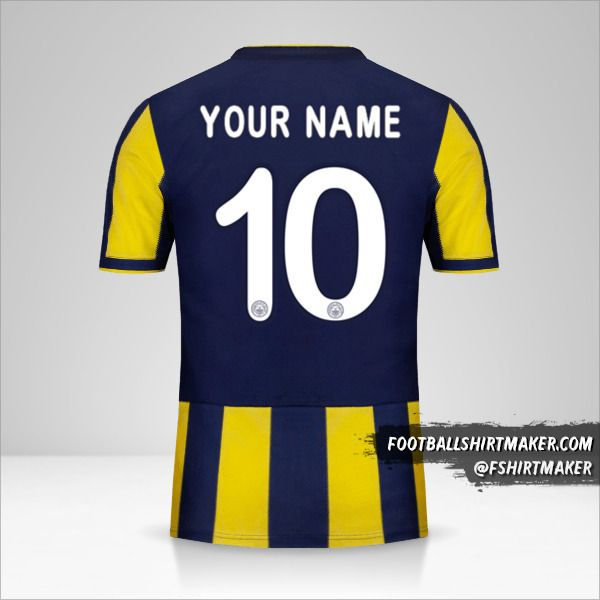 Fenerbahçe SK 2018/19 Cup shirt number 10 your name