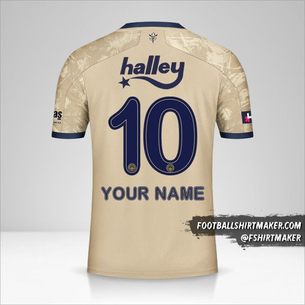 Fenerbahçe SK 2020/21 II shirt number 10 your name