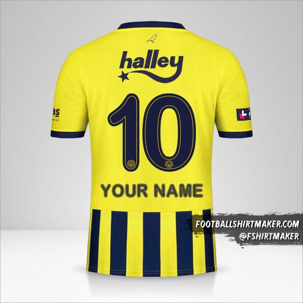 Fenerbahçe SK 2020/21 shirt number 10 your name