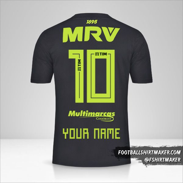 Flamengo 2019 III shirt number 10 your name