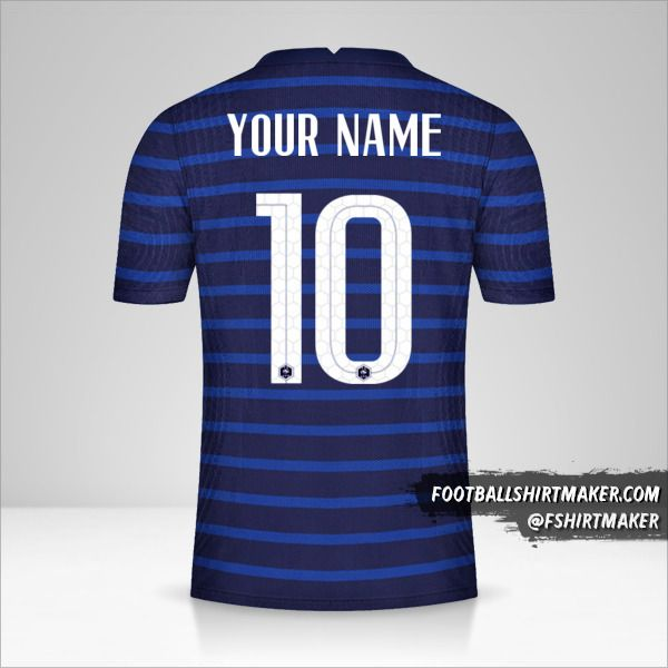 France 2020/2021 shirt number 10 your name