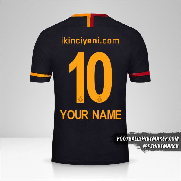 Galatasaray SK 2018/19 II shirt number 10 your name