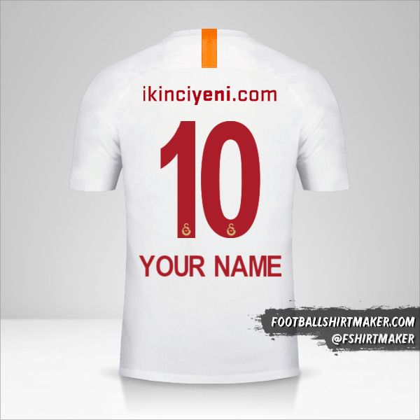 Galatasaray SK 2018/19 III shirt number 10 your name
