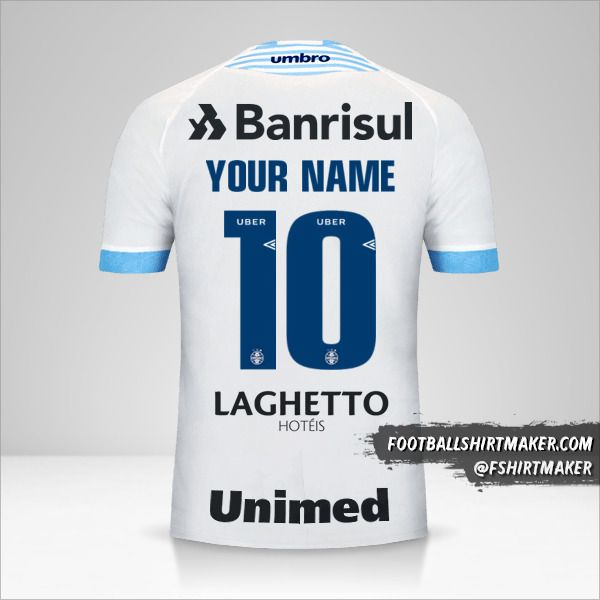 Gremio 2018 II shirt number 10 your name