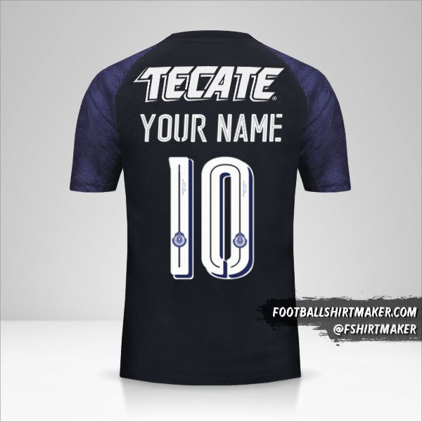 Guadalajara 2017/18 II shirt number 10 your name