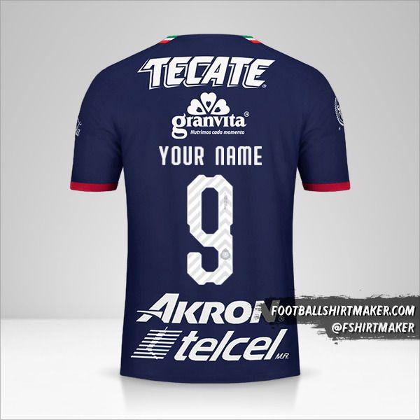 Guadalajara 2018/19 III shirt number 9 your name