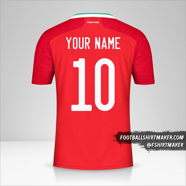 Hungary 2020/2021 shirt number 10 your name