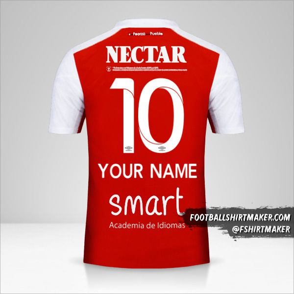 Independiente Santa Fe 2018 shirt number 10 your name
