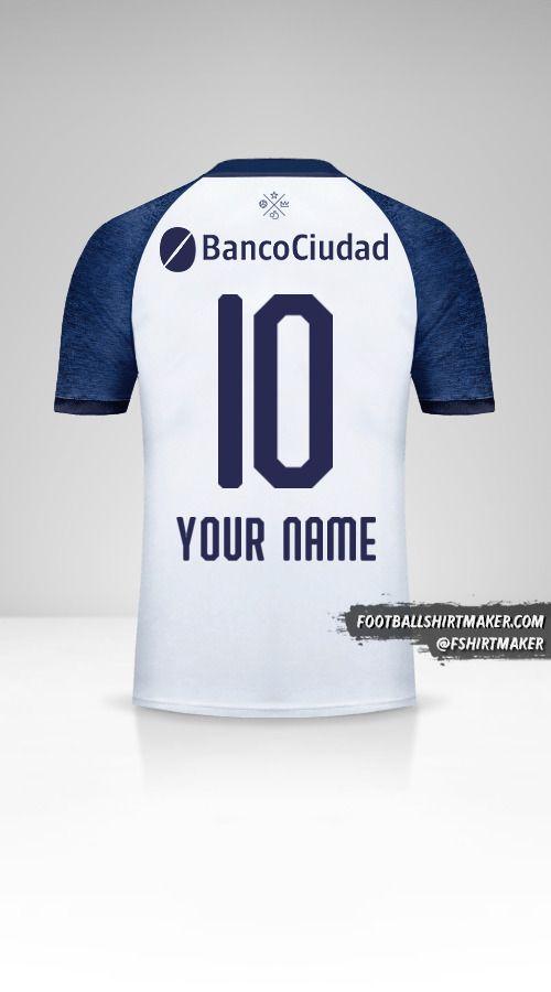 Independiente 2018/19 II shirt number 10 your name