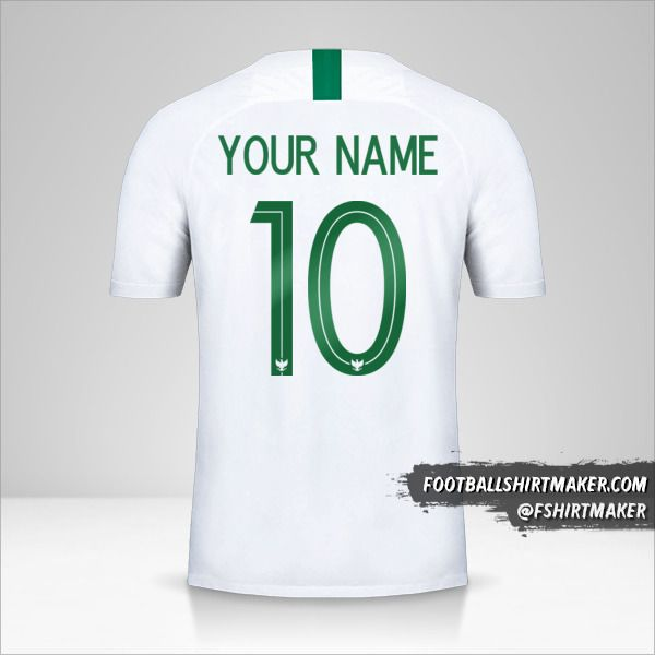 Indonesia 2018 II shirt number 10 your name
