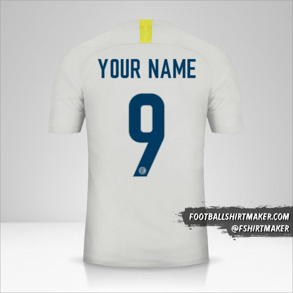 Inter 2018/19 III shirt number 9 your name