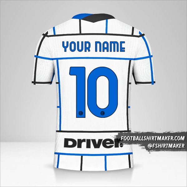 Inter 2020/21 II shirt number 10 your name