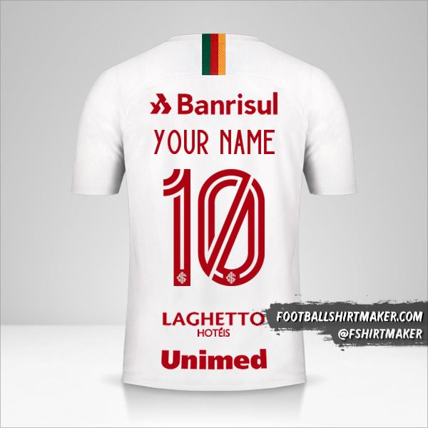 Internacional 2019/20 II shirt number 10 your name