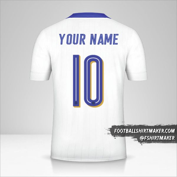 Italy 2016 II shirt number 10 your name