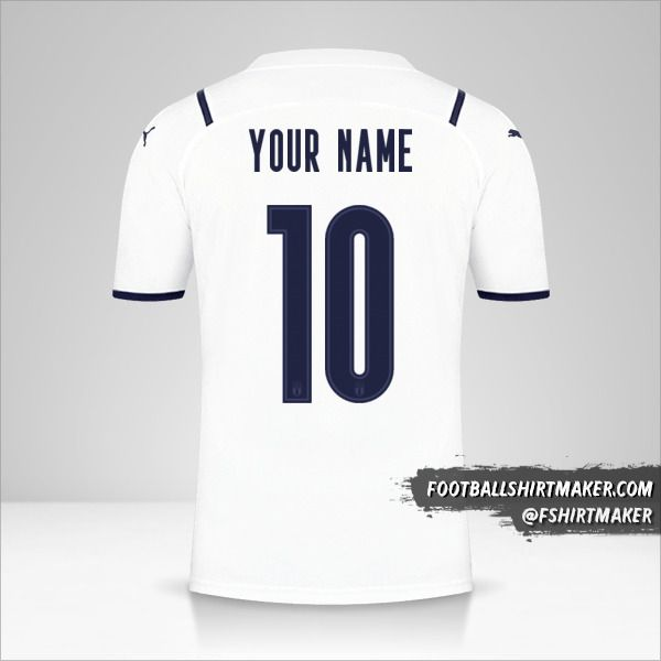 Italy 2021II shirt number 10 your name