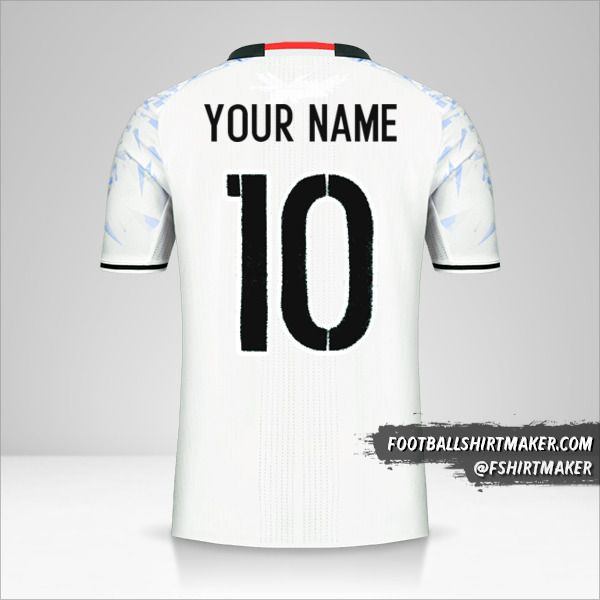 Japan 2016 II shirt number 10 your name