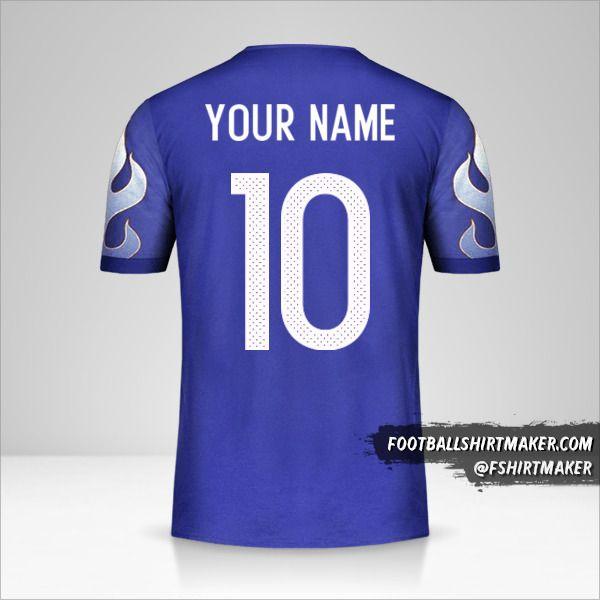 Japan 2017 shirt number 10 your name