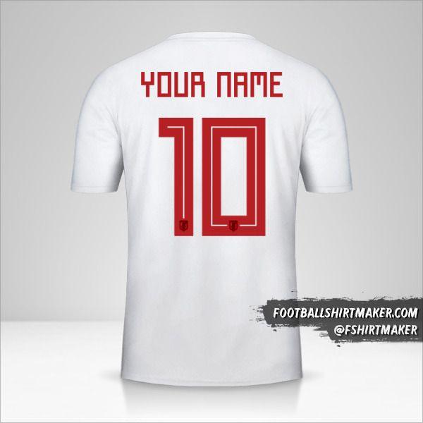 Japan 2018 II shirt number 10 your name
