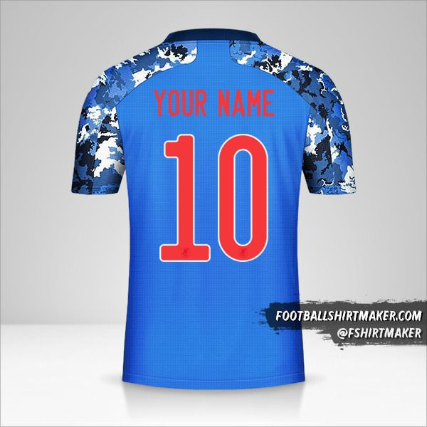 Japan 2020 shirt number 10 your name