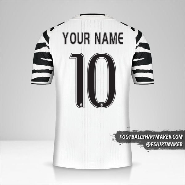 Juventus FC 2016/17 III shirt number 10 your name