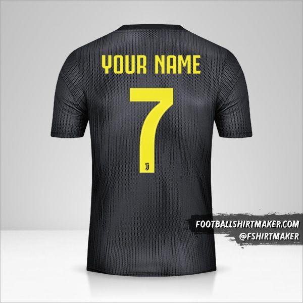 Juventus FC 2018/19 III Cup shirt number 7 your name