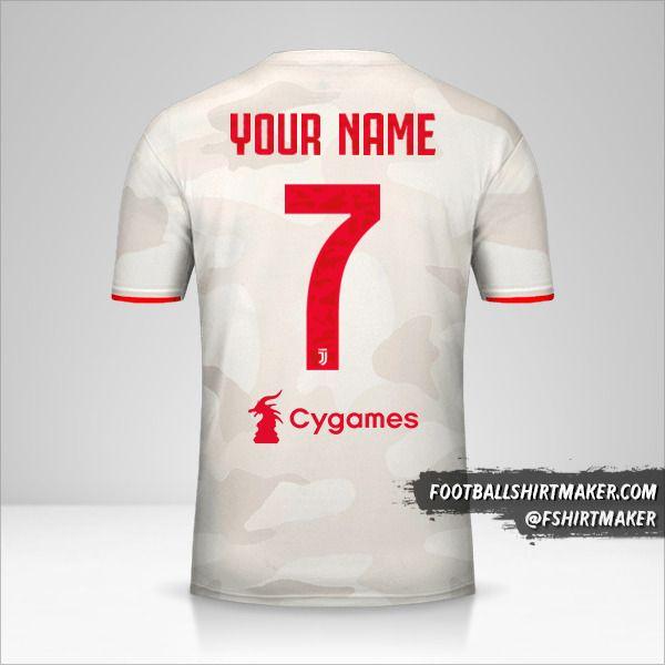 Juventus FC shirt 2019/20 II number 7 your name