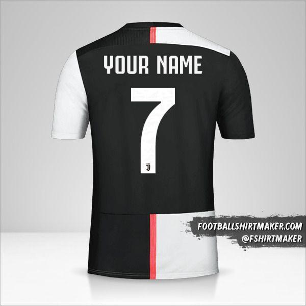 Juventus FC 2019/20 Cup shirt number 7 your name