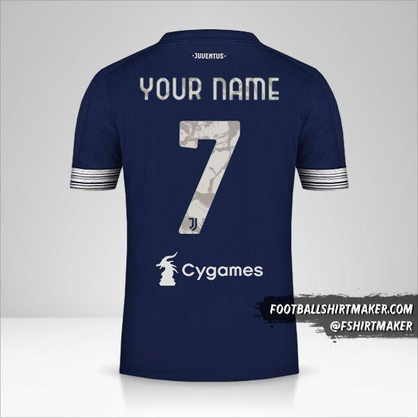 Juventus FC 2020/21 II shirt number 7 your name