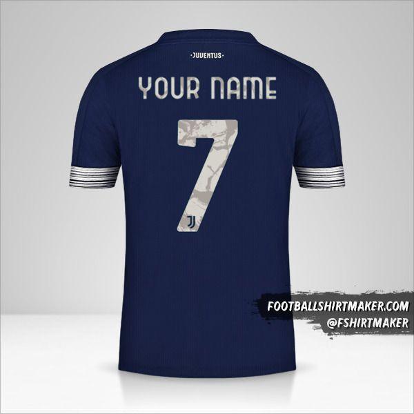 Juventus FC 2020/21 Cup II shirt number 7 your name