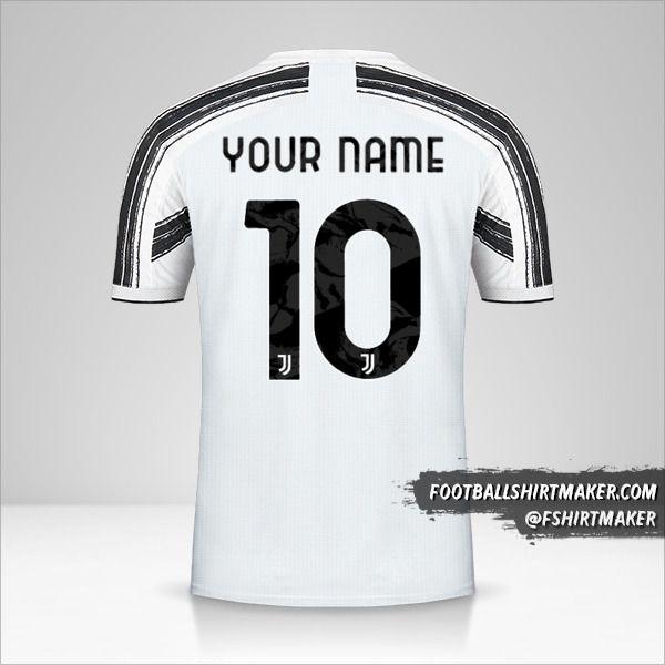 Juventus FC 2020/21 Cup shirt number 10 your name