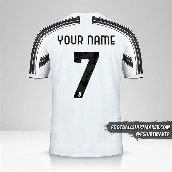 Juventus FC 2020/21 Cup shirt number 7 your name