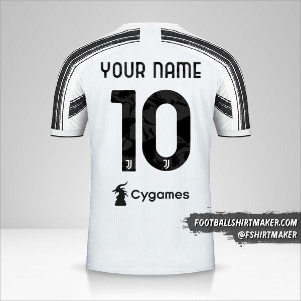 Juventus FC 2020/21 shirt number 10 your name