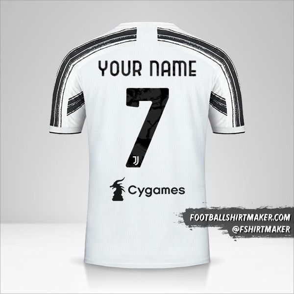 Juventus FC 2020/21 shirt number 7 your name