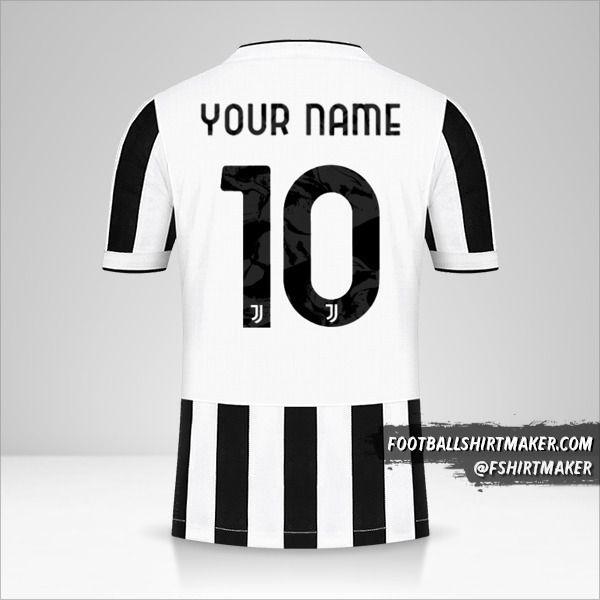 Juventus FC 2021/2022 Cup shirt number 10 your name