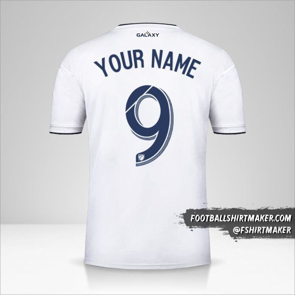 LA Galaxy 2018/19 shirt number 9 your name
