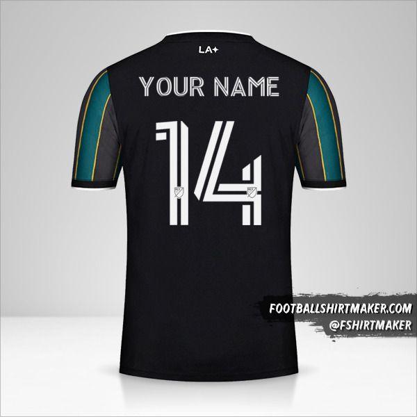 LA Galaxy 2021 II shirt number 14 your name