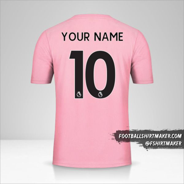 Leicester City FC 2019/20 II Pink shirt number 10 your name