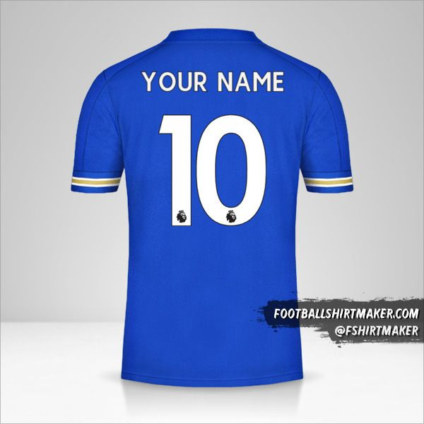 Leicester City FC 2020/21 shirt number 10 your name