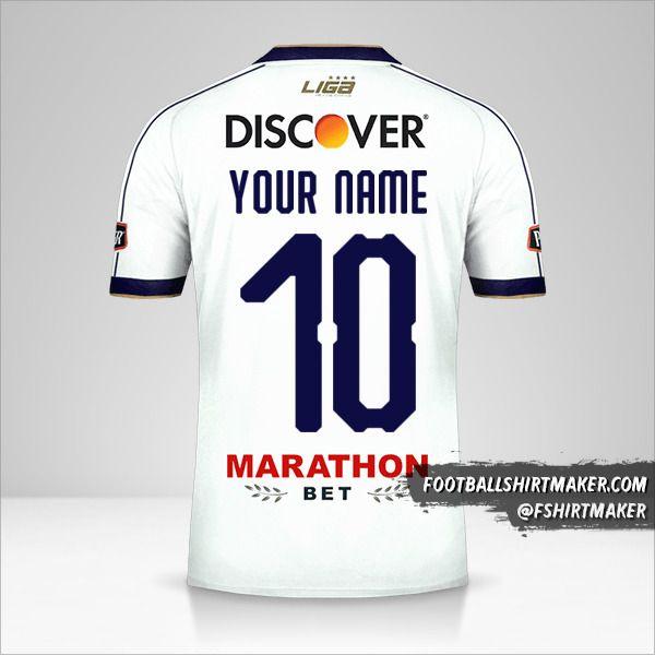 Liga de Quito 2019 shirt number 10 your name