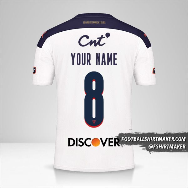 Liga de Quito 2021 shirt number 8 your name